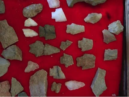 Native American artifacts found in Horizons Village